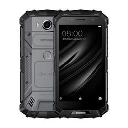 Wholesale Gb Water - DOOGEE S60 Lite IP68 Waterproof 5.2inch 4GB+32GB Smartphone Android 7.0 4G LTE Phone Octa Core Fingerprint Smartphone 5580mAh