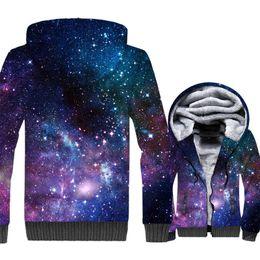Space Galaxy 3D Imprimir Hoodie Hombres Coloridos Nebula Estrellas Sudadera  Harajuku Abrigo Invierno Gruesa Chaqueta de Lana Hipster Streetwear 5d881832607