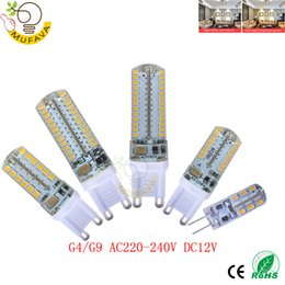 Wholesale Led Lights G9 Price - 4pcsLowest price LED Bulb SMD28353014 LED G4 G9 lamp 3W 7W 9W 10W 12W Light DC12V AC220V 360 Degree Replace Halogen Lamp