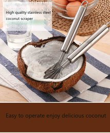 Wholesale Wholesale Milking Machine - coconut scraper machine stainless steel blades Multi-function high quality coconut milk pulp scraper Easy to operate Factory price