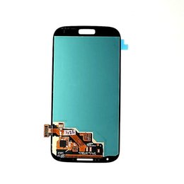 Wholesale Lcd S4 Black - For Samsung Galaxy S4 LCD i9500 i9508 i9508v i559 Touch Digitizer Screen Blue White Black original quality no dead pixel with free tools