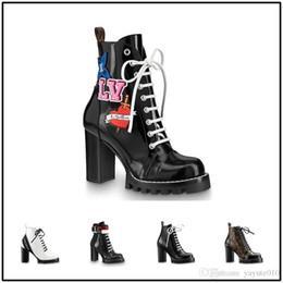 chaussures élégantes à talons bas noir Promotion Nouvelle mode 2018, bottines, bottes pour dames, créateurs de luxe, chaussures de loisirs en cuir confortables et à talons, super talons de 9,5 cm 35-42
