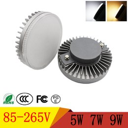 lamp gx53 Coupons - GX53 LED Cabinet Light SMD2835 5W 7W 9W Led Bulbs 85-265V High Brightness LED Spotlight Lamps