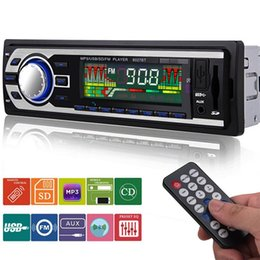 Wholesale Electronic Tuners - 2018 New 8027BT 1 Din Car Radio Autoradio Car Audio Stereo FM SD MP3 Player AUX USB In-Dash Car Electronics with Remote Control