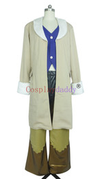 Cosplay fantasia final on-line-Final Fantasy VIII Irvine Kinneas Traje Cosplay E001