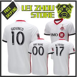 f04fc768c 2018 Toronto FC Soccer Jersey 2019 Extérieur GIOVINCO MLS Maillots de BRADLEY  ALTIDORE Toronto Personnalisé Football uniformes soldes