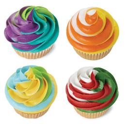 Outils de glaçage pour cupcakes en Ligne-Mode Nouveau 3 Couleur Glaçage Tuyauterie Sac Convertisseur De Buse Tri-couleur Crème Coupler Décoration De Gâteau Outils pour Cupcake Fondant Cookie