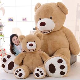 51 inch giant teddy bear plush toy life size teddy bear 1 pcs 130cm kids toys birthday gift Valentine's Day Gifts от
