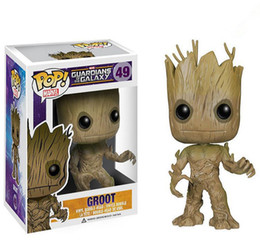 Wholesale pop people - Funko POP Guardians of the Galaxy Tree People PVC Action Figure Dolls gift With Box hot New