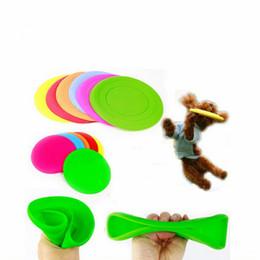 2020 fliegen spielen Super Soft-Silikon-Meddle Flying Disc des Phantastischen Hund Flying Disc Tooth freies Training Spielzeug spielen Frisbee Tide rabatt fliegen spielen