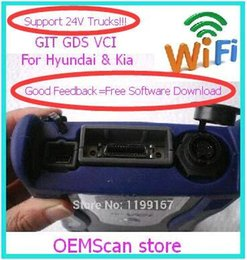 Wholesale Gds Kia - 2017 Original GDS VCI for hyundai trucks&car support WIFI function& Self Test without Software GDS for Hyundai& KIA GDS scanner