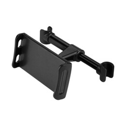 Wholesale Car Holder For Tablet Pc - Universal Car Rear Pillow Phone Holder Adjustable Tablet PC Mobile Phone Holders 4-6 inch Back Seat Stand for iPhone ipad