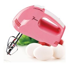Wholesale hand held mixers - New Still moving authentic special mini -power hand-held electric mixer beat eggs household Whisk