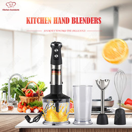 Wholesale hand mixers electric - MQ725 Mini Blender sauce blender electric kitchen hand blenders mixer immersion submersible juice professional stick