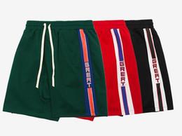 Wholesale combat cargo shorts - RIPNDIP Skateboard supf Shorts New Men Summer Style Fashion Loose Overalls Vintage Army Cargo Camo Combat Trouser Shorts