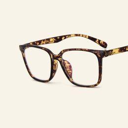 32c4603049e Women And Men Square Glasses Frames Casual Unisex Eyewear Frame Students  Myopia Optical Glasses Uper Light Trendy Goggles
