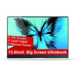Wholesale ips fhd - 15.6inch 4GB Ram 64GB eMMC Windows 10 System 1920X1080P FHD IPS Screen Intel Atom Z8350 Quad Core Laptop Notebook Computer
