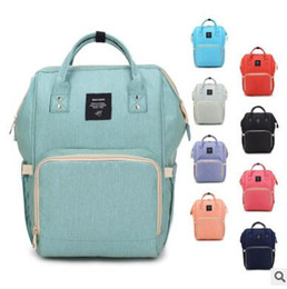 Wholesale Wholesale Nappy Changing Bags - Mommy Diaper Bags Nappies Maternity Backpacks Fashion Mother Backpacks Desinger Handbags Outdoor Backpacks Mommy Changing Bags 14 Color TX03