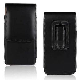 2019 clip de cinturón de cuero billetera Universal Wallet PU Funda vertical de cuero funda vertical con correa para iPhone X 8G 7G 6S plus S7 S8 plus rebajas clip de cinturón de cuero billetera