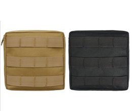 Wholesale Outdoor Tactical Vest - Empty Bag Tactical Medical First Aid Utility Pouch Emergency Bag For Vest & Belt Treatment Pack Outdoor Waistpacks DDA554
