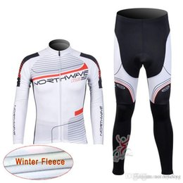 bicycle winter Coupons - NW team Cycling Winter Thermal Fleece jersey (bib) pants sets new MTB bicycle quick-dry wear bicycle long maillot fahrrad sport C1219