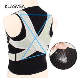7118295c1e16f wholesale Adjustable Posture Corrector Back Straightener Brace Support  Shoulder Lumbar Support Spine Belt Therapy Health Bone Care