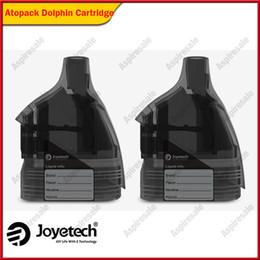 Atomizador de cigarrillo electronico 6ml online-100% original Joyetech Atopack Dolphin Cartucho con capacidad del tanque atomizador de 6 ml Para Atopack Dolphin Kit cigarrillo electrónico
