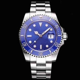 2019 titan schweizer männer beobachten Luxus AAA + Qualitätsuhr 40mmmm1166610 Edelstahl automatische mechanische Uhr wasserdicht 40m Sport mechanische Herrenuhr