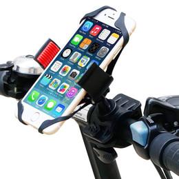2019 telefone celular nexus Suporte de bicicleta, Universal Cell Phone Bicicleta Rack de guiador Motocicleta Cradle para iPhone, Samsung, Nexus, HTC, LG, BlackBerry telefone celular nexus barato