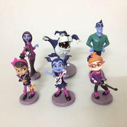Wholesale Novelty Items For Kids - 6pcs In 1set Kids Vampirina Figure Toys Mini Doll Children Vampire Girl Action Toy 7-10cm Novelty Items For Gifts 19zr Z