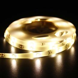 führte küchenschrank Rabatt Led-streifen Seil Licht LED Batterie Betrieben mit PIR Auto Sensor Bewegung für Küchenbett Schrank Schrank Treppen Flur Waschraum