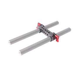 2019 rig-klemme 15mm MINIFOCUS 15mm Railblock Rod Clamp mit 1 / 4-20 Gewinde für Rot und andere 15mm DSLR Kamera Rig günstig rig-klemme 15mm