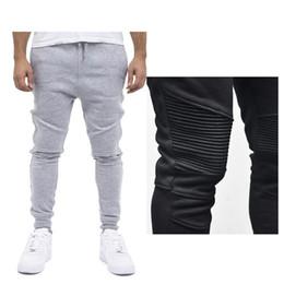 Wholesale workout clothes for men - 2018 Autumn Men's Casual Joggers Plain Sweatpants Trousers For Men Gyms-clothing Male Slim Long Sweats Workout Pants 3XL