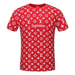 Argentina 2018 Nuevas llegadas Casual G G T-shirt Letras de bordado Summer Fashion Mens Short Sleeve Cotton Tee Hombre 8277S Suministro