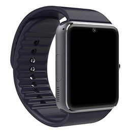 Wholesale Wrist Massage - GT08 Bluetooth Smart Watch for Android phones,smart watch with SIM Card Slot,Call,Massage,For IOS iphone and Android phones Samsung ZTE Sony