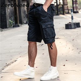 96e7e0fda15 Cargo Shorts Bermuda Multi-pocket Shorts 2017 New Brand Men Top Quality Trousers  Summer Army Workout Wear Cool Bottoms Homme 192