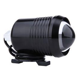Wholesale Wholesale Motorcycle Batteries - DC12V 30W Super Bright Motorcycle Headlights U2 Moto LED Driving Spotlights Offroad Motorbike Headlight Lamp Fog Light