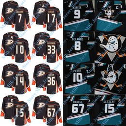 billige authentische nhl hockey trikots Rabatt NEW Third Anaheim Ducks Jersey Rickard Rakell Ryan Getzlaf Corey Perry Jakob Silfverberg Ondrej Kase Manson Adam Henrique Cogliano Kesler