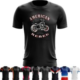 usa t-shirt da basket Sconti T-shirt da allenamento a secco per allenamento sportivo T-shirt da allenamento a pallacanestro Biker Life USA T-shirt da uomo a manica corta per uomo da uomo casual Top 5XL 6XL