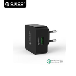 Wholesale Micro Usb Charger Wall Port - Orico 1 Port QC3.0 USB Quick Charger Wall Charger with 1m Free Micro USB Cable QTW-1U