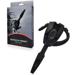 Argentina Hot Gaming Headset Auricular Bluetooth 4.0 Recargable inalámbrico de manos libres para auriculares Auricular Standby largo para PS3 PC auricular Suministro