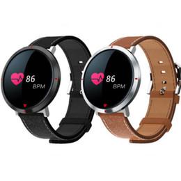 Bluetooth del cuore del pedometro online-Braccialetto di frequenza cardiaca 2018 S2 Smart Watch Fitness Tracker IP67 Impermeabile Contapassi Call Promemoria Bluetooth Wristband Per iOS Android