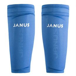 medias de espinilla acolchadas Rebajas Almohadillas para las piernas de fútbol de los guardias de fútbol profesional Portero Protector de entrenamiento deportivo Calcetines de guardias Shin