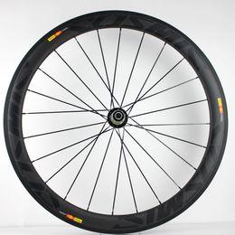 Ligero Oem Custom Fibra de carbono 50 mm Clincher Road Racing Bike 700C Llantas Juego de ruedas Aero Ruedas de bicicleta desde fabricantes