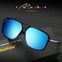 Wholesale Polar Brown - Aviator Mens Sunglasses Polarized Gafas De Sol Mujer Points for Women Sun Polar Driver Glasses Brand Designer Eyewear with Case S523A