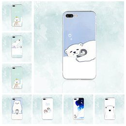 [Tongtrade] silicone macio tpu case para iphone x 8 7 6 s 5 s plus polar bear pingüins bonitos pintura colorida galaxy s9 s8 s7 s6 borda plus case de Fornecedores de galáxia s6 borda bonito casos