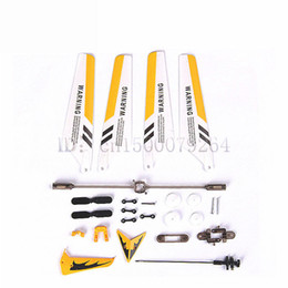 Wholesale Helicopter Prop - Free shipping whole SYMA S107 S107G helicopter parts 3.5 channel remote control, blades tail props balance bar shafts gears