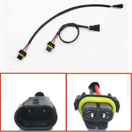 Wholesale Hidden Power Socket - 2pcs Car-styling Auto 9006 HB4 Wire Harness HID Xenon Power Cable Connector Ballast Socket HID Wiring relay Connector Adapter