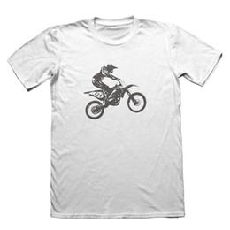583c1671e Motocross Bikeing Design T-Shirt - Funny Men's Gift # 5580 top camiseta de  envío gratis funny 100% Cotton t shirt económico motocross
