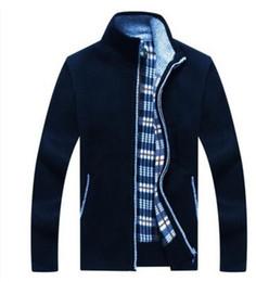 бесплатная доставка зимняя одежда с длинным рукавом больше добавить шерсть кардиган свитер прилив молодежи мужской теплый свитер от